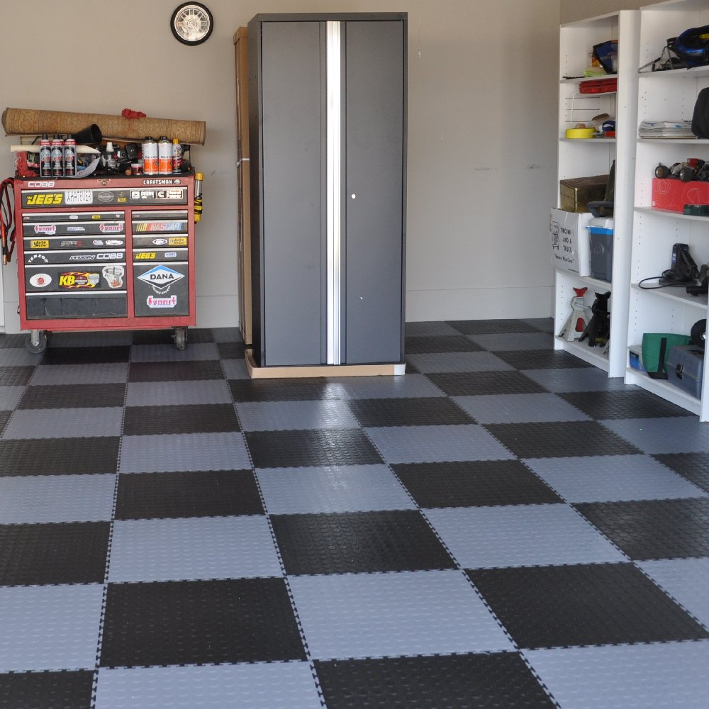 Easy Do It Yourself Garage Flooring